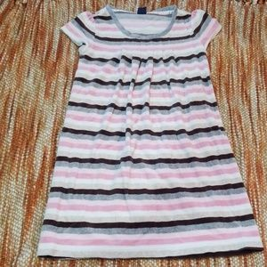 GAP Dresses - Gap girls 10 12 velour stripe fall dress